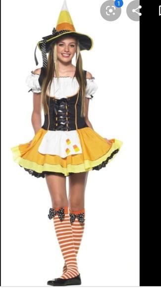 Leg Avenue Dresses & Skirts - Leg Avenue Candy Corn witch Costume